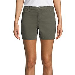 """St. John's Bay Womens Mid Rise 5"""" Chino Short   JCPenney"""