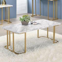 Kelise Sled Coffee Table   Wayfair North America
