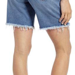 High Waist Mid Length Denim Shorts | Nordstrom