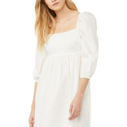 Scoop Women's Babydoll Dress with Puff Sleeves | Walmart (US)
