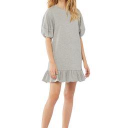 Scoop Women's Sweatshirt Dress with Ruffle Hem | Walmart (US)