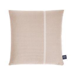 "Gap Home Asymmetrical Stripe Decorative Square Throw Pillow Khaki 20"" x 20""   Walmart (US)"