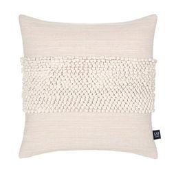 "Gap Home Border Knots Decorative Square Throw Pillow Natural 20"" x 20""   Walmart (US)"