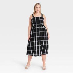 Women's Striped Sleeveless Buckle Back Dress - Who What Wear™   Target