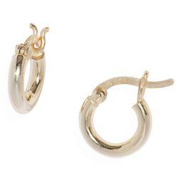 Women's Argento Vivo Sterling Silver Small Hoop Earrings | Nordstrom