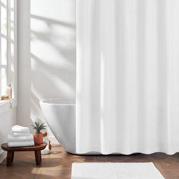 "Gap Home Solid Textured Organic Cotton Shower Curtain White 72""x72"" | Walmart (US)"