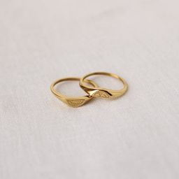 Friendship Rings, 18k Gold Plated Rings, Twin Rings, Stacking Rings, Dainty Gold Rings, Signet Ri...   Etsy (US)