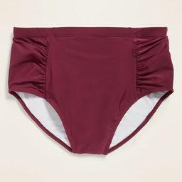 High-Waisted Secret-Slim Plus-Size Swim Bottoms   Old Navy (US)