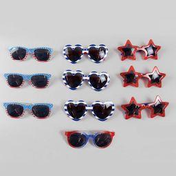 10ct Kids' Sunglasses Red/White/Blue - Bullseye's Playground™ | Target