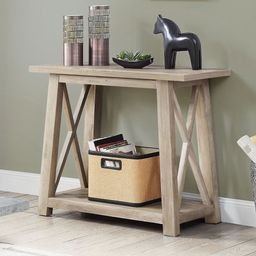 """Better Homes & Gardens Granary Modern Farmhouse 36"""" Console Table, Multiple Finishes 