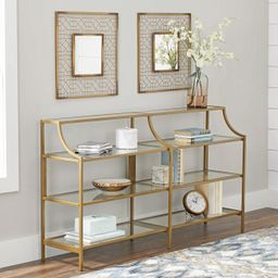 Better Homes & Gardens Nola Console Table, Gold Finish | Walmart (US)