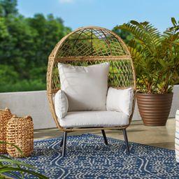 Better Homes & Gardens Ventura Stationary Outdoor Kid's Egg Chair | Walmart (US)