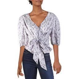 INC Womens Puff Sleeve Floral Blouse   Walmart (US)