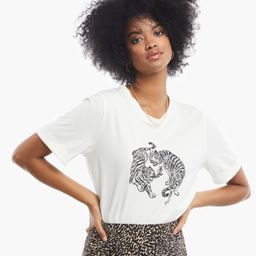 Gloria Graphic Tee -                $45or 4  payments of $11.25 by  ⓘ   Live Fashionable