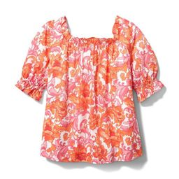 Floral Puff Sleeve Swing Top | Janie and Jack