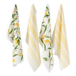 "DII Lemon Bliss Kitchen Textiles, 18x28"", Lemon Bliss, 4 Pieces | Walmart (US)"