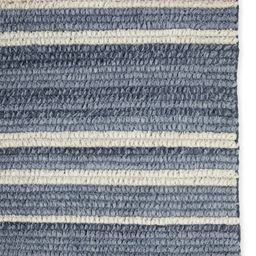 Sea Stripe Hand-Knotted Rug   Serena and Lily