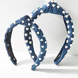 Lele Sadoughi Heart-Studded Headband Set | Anthropologie (US)