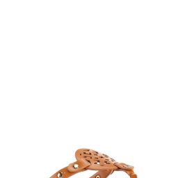 Faux Leather Medallion Sandals | Cato Fashions