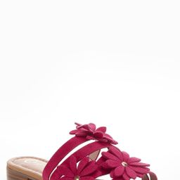 Blooming Flower Slide Sandals | Cato Fashions