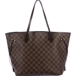 Louis Vuitton Damier Ebene Neverfull MM | The Real Real, Inc.