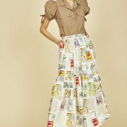 Reagan Skirt   Hunter Bell