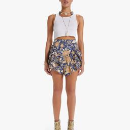 The Ruffle Mini Skirt   Mother Denim