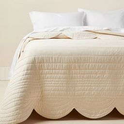 Scalloped Edge Quilt - Opalhouse™ designed with Jungalow™   Target