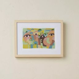 """16"""" x 12"""" Eyes on You Framed Wall Art - Opalhouse™ designed with Jungalow™   Target"""