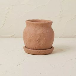 """5.5"""" Terracotta Planter Brown Clay - Opalhouse™ designed with Jungalow™   Target"""