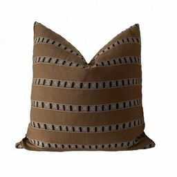 Vintage Tribal Stripe Textile Pillow Cover || CALDERA ||  Boho Pillow | Rustic | Modern Farmhouse... | Etsy (US)