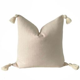 Vintage Moroccan Tassel Pillow Cover || NOA || Boho Pillow | Modern Farmhouse | Marigold Interior... | Etsy (US)