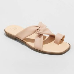 Women's Jessa Toe Loop Sandals - A New Day™ | Target