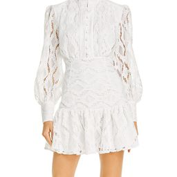 Remy Balloon-Sleeve Lace Dress | Bloomingdale's (US)