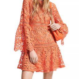 Lace Bell Sleeve Mini Dress | Bloomingdale's (US)