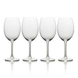 mikasa julie 4-pc. bordeaux wine glass set   Walmart (US)