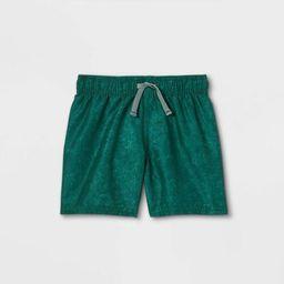 Toddler Boys' Swim Shorts - Cat & Jack™ Green | Target