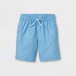 Boys' Solid Swim Shorts - Cat & Jack™ Light Blue | Target