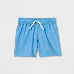 Toddler Boys' Swim Shorts - Cat & Jack™ Light Blue | Target
