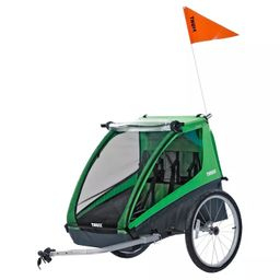 Thule Cadence Double Child Bicycle Trailer, Green | Target