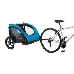 Schwinn Shuttle foldable bike trailer, 2 passengers, blue / black | Walmart (US)