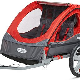 Instep Bike Trailer for Toddlers, Kids, Single and Double Seat, 2-In-1 Canopy Carrier, Multiple C... | Amazon (US)