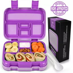 Zulay Kitchen Kids Bento Box - Durable & Professionally Designed Leakproof Bento Box for Kids Wit... | Target