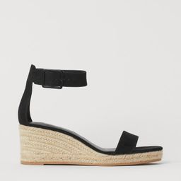 Wedge-heel Espadrilles   H&M (US)