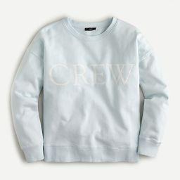 Limited-edition original cotton terry logo sweatshirt | J.Crew US