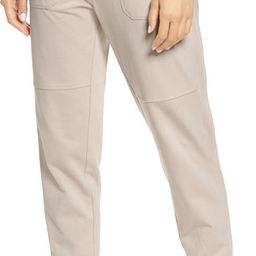Washed Organic Cotton Ankle Joggers | Nordstrom