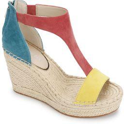 Women's Olivia T Strap Espadrille Wedge Sandals | Macys (US)