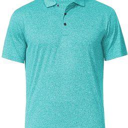 Men's Dry Fit Golf Polo Shirt | Amazon (US)