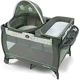 Graco Pack 'n Play Travel Dome Playard | Includes Travel Bassinet, Full-Size Infant Bassinet, and... | Amazon (US)