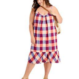 Gingham Sleeveless Dress, Created for Macy's | Macys (US)